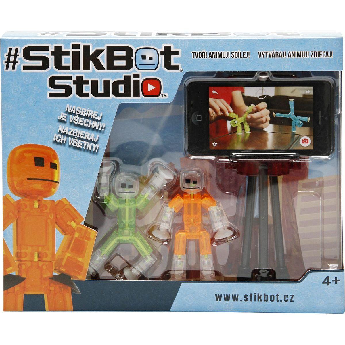 Stikbot 2 pack se stativem