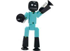 Stikbot Animák 1 figurka černá hlava-modré tělo