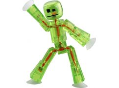 Stikbot Animák figurka - Sv. zelená transparentní