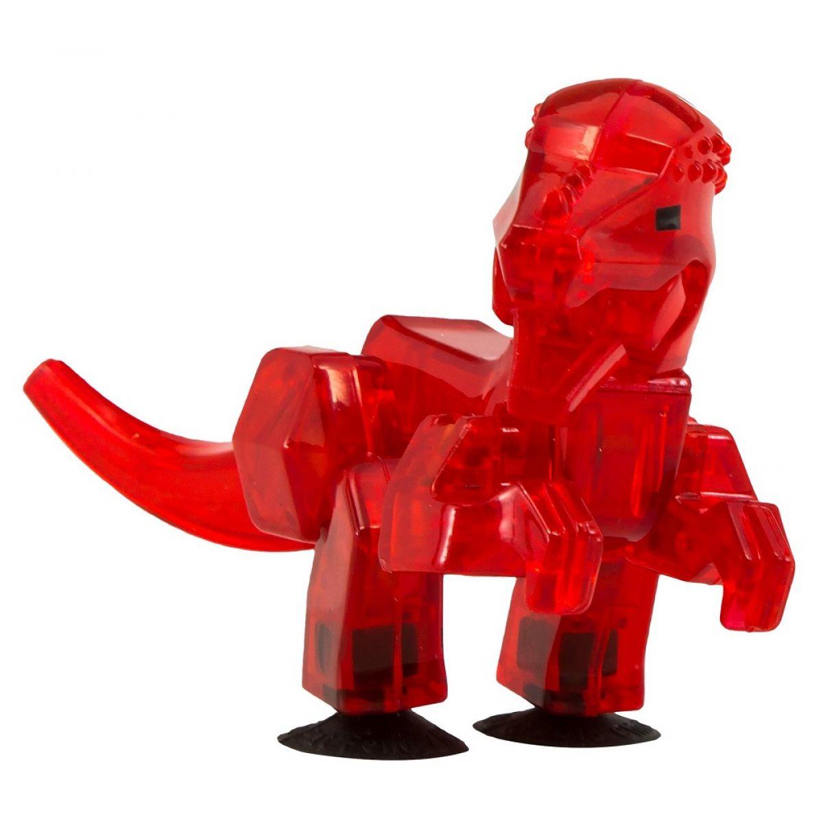 StikBot dino Pachycephalosaurus červený