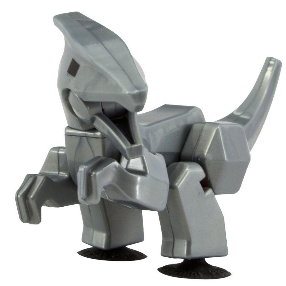 StikBot dino Parasaurolophus šedý