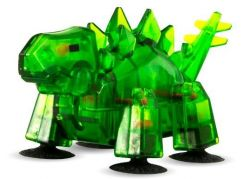 StikBot dino Stegosaurus zelený