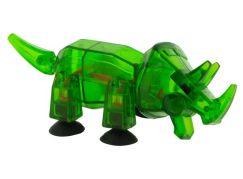 StikBot dino Triceratops tmavě zelený