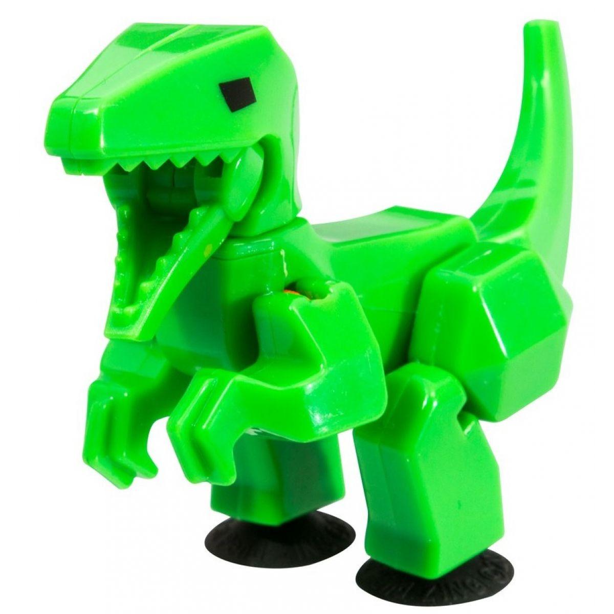 StikBot dino Velociraptor zelený