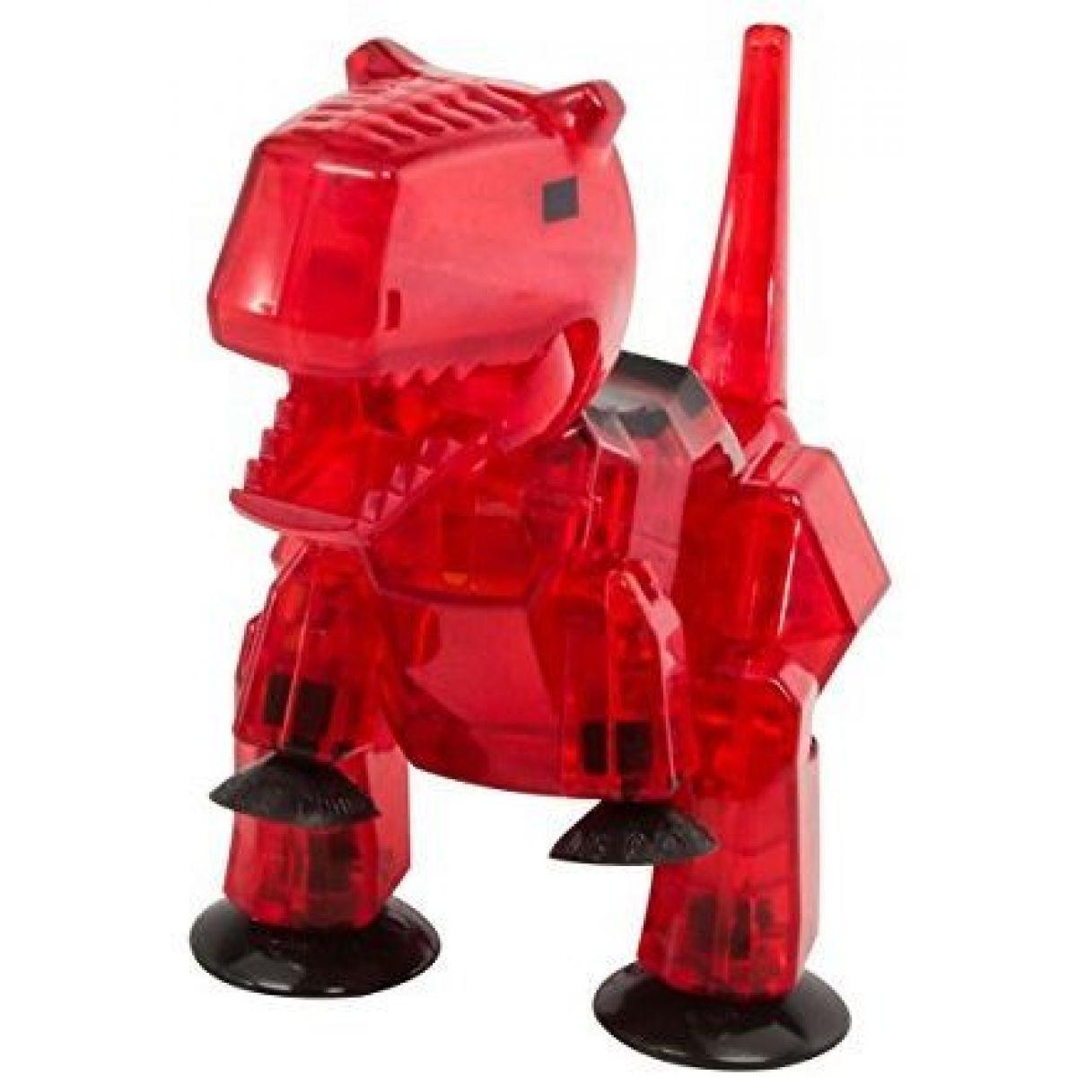 StikBot Mega dino Carnotaurus červený