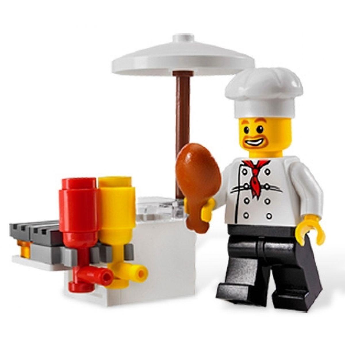 Stánek s občerstvením LEGO CITY 8398