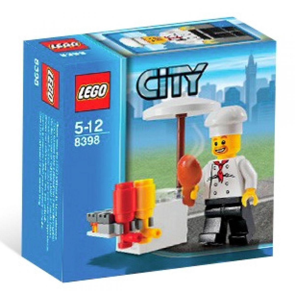 Stánek s občerstvením LEGO CITY 8398 #2