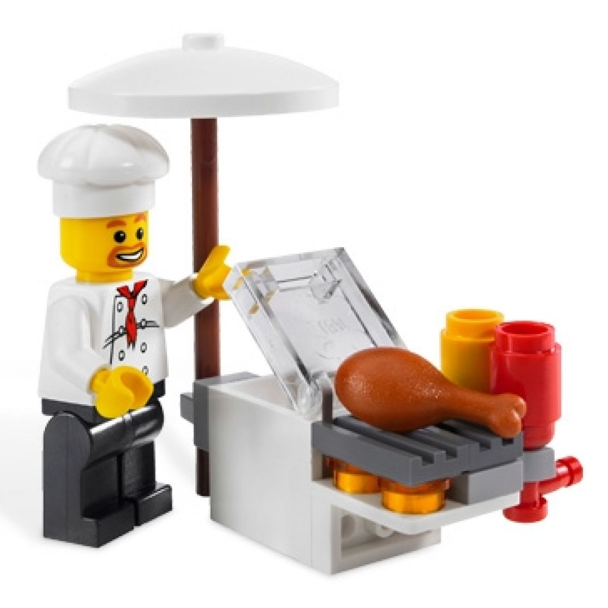 Stánek s občerstvením LEGO CITY 8398 #4