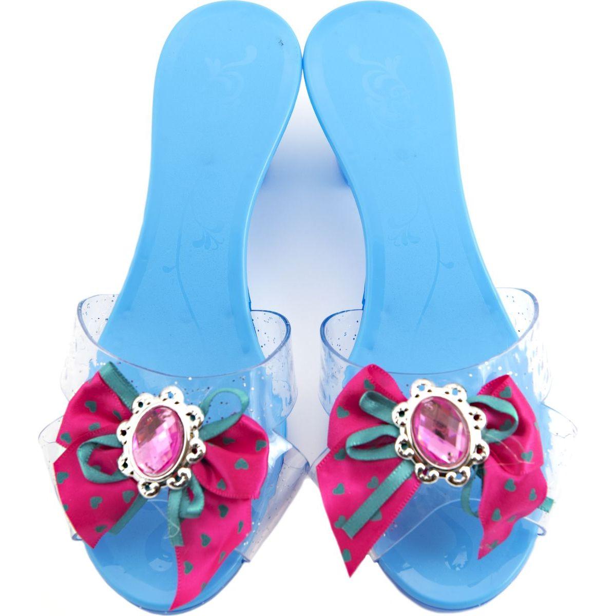 Střevíčky pro princeznu plastové 18cm modrá