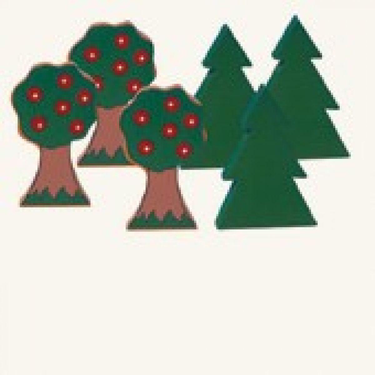 Stromy 6 ks Bino 82052