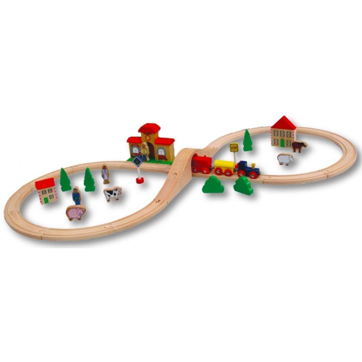 Studo Train Vláčkodráha 40 dílů