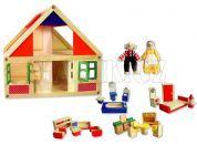 Studo Wood Domeček na hraní s figurkami