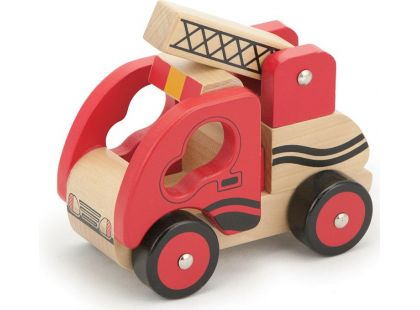 Studo Wood Hasičský vůz