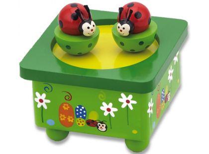 Studo Wood Hrací box berušky