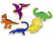 Studo Wood Magnetky Dinosaurus 20 ks