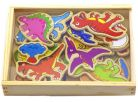 Studo Wood Magnetky Dinosaurus 20 ks 2