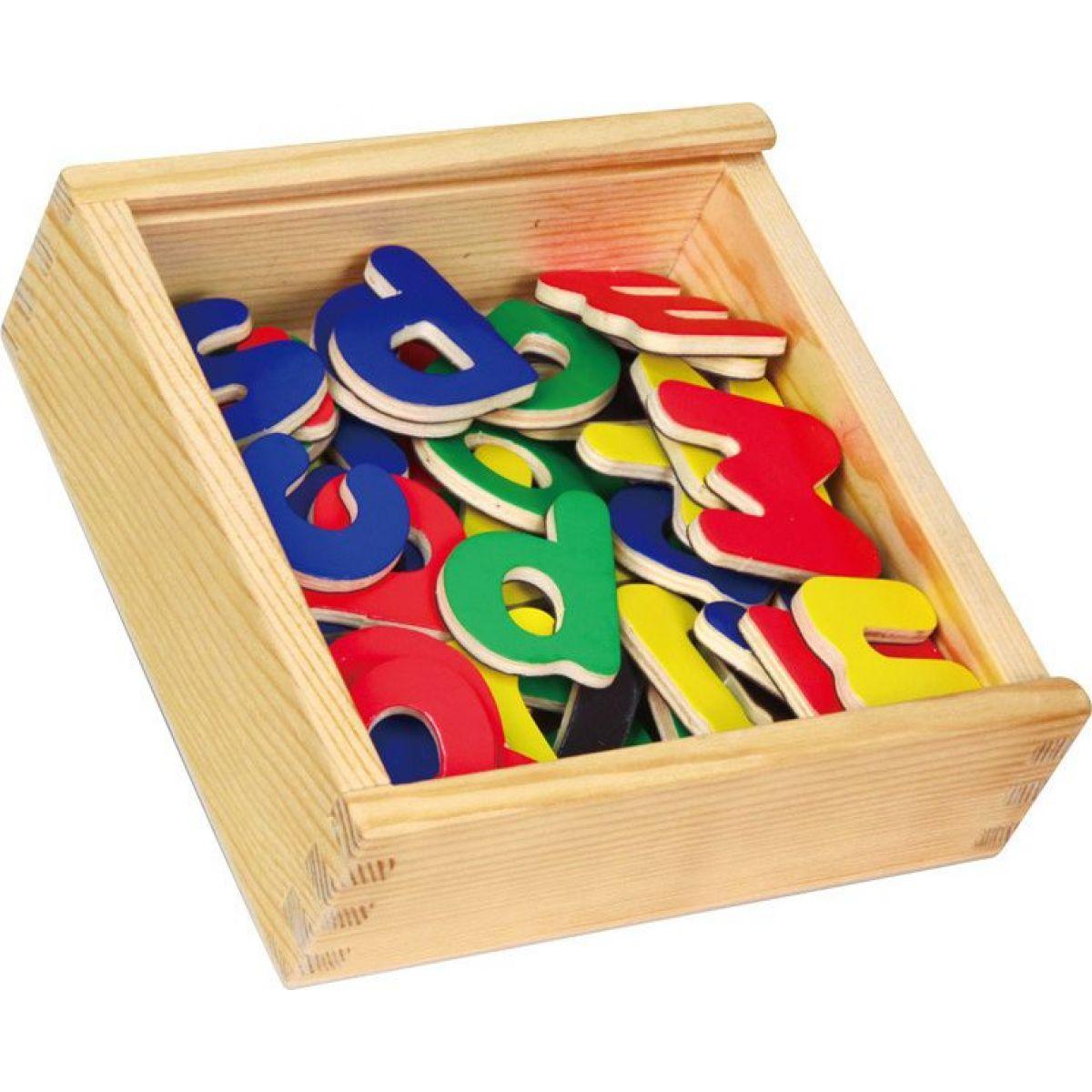 Studo Wood Magnetky písmena 52ks