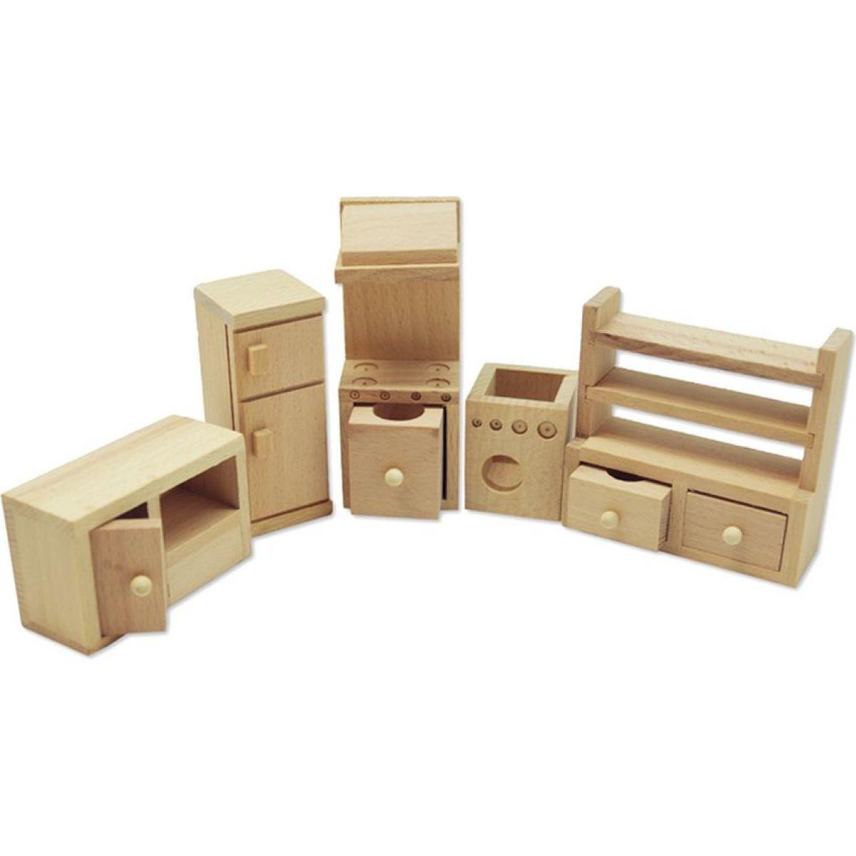 Studo Wood Mini nábytek Kuchyně