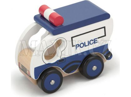 Studo Wood Policejní vůz