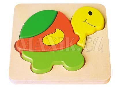 Studo Wood Puzzle Želva