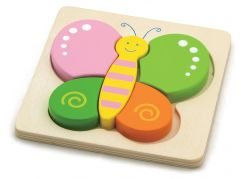 Studo Wood Puzzle Motýl
