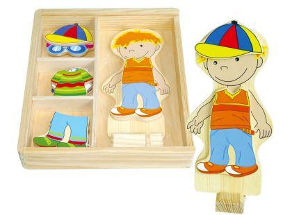Studo Wood Šatní skříň chlapeček