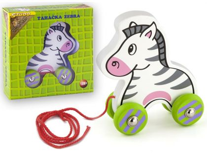 Studo Wood Tahací zebra