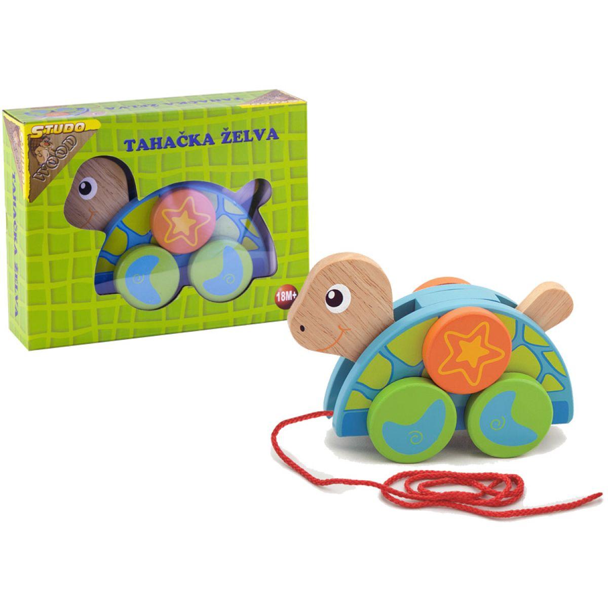 Studo Wood Tahací želva