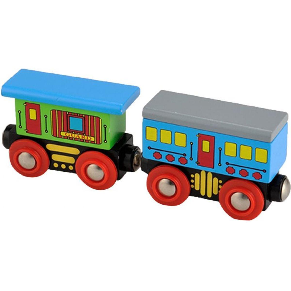 Studo Wood Vláček vagon 2ks
