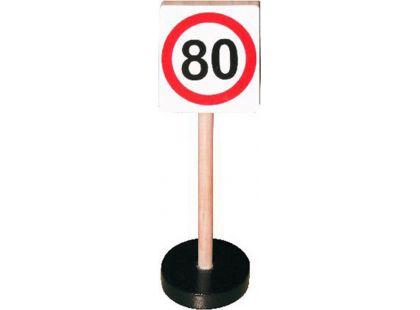 Studo Wood Značka - max rychlost 80 km/hod