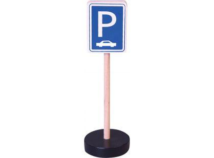Studo Wood Značka - parkoviště