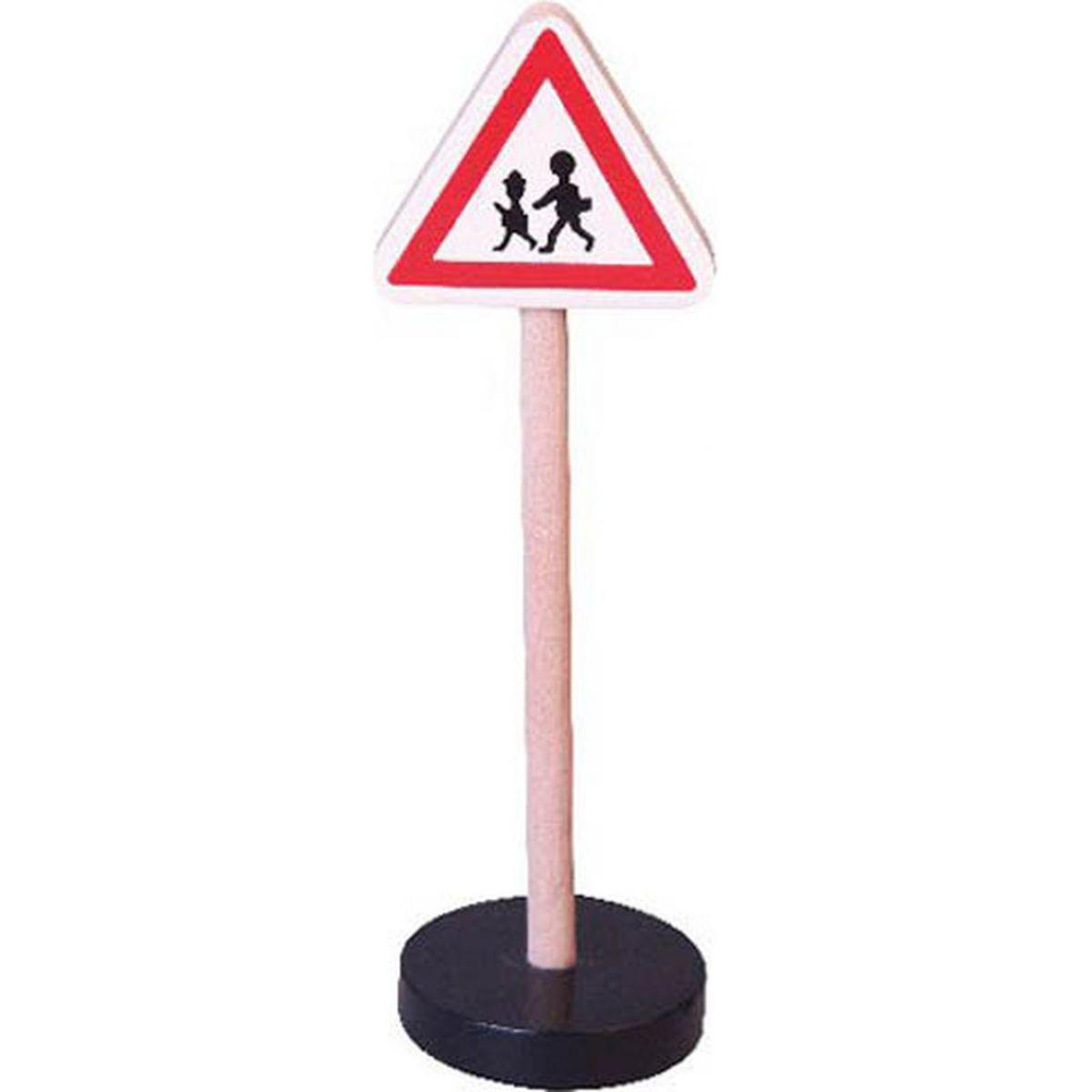 Studo Wood Značka - pozor děti