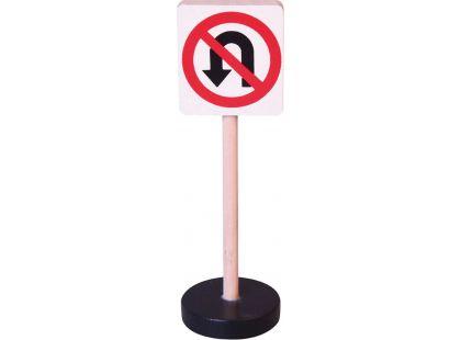 Studo Wood Značka - zákaz otáčení