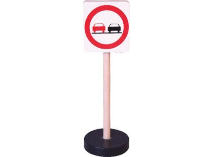 Studo Wood Značka - zákaz předjíždění