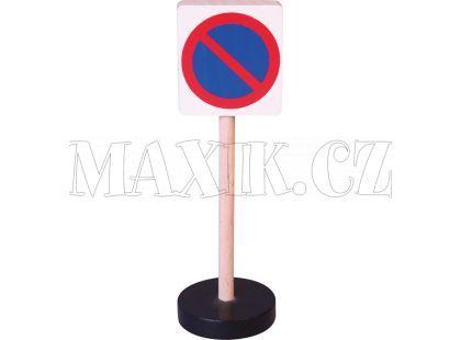 Studo Wood Značka - zákaz stání