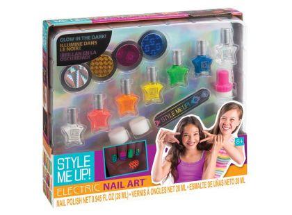 Style Me Up Svítící nehty ve tmě set