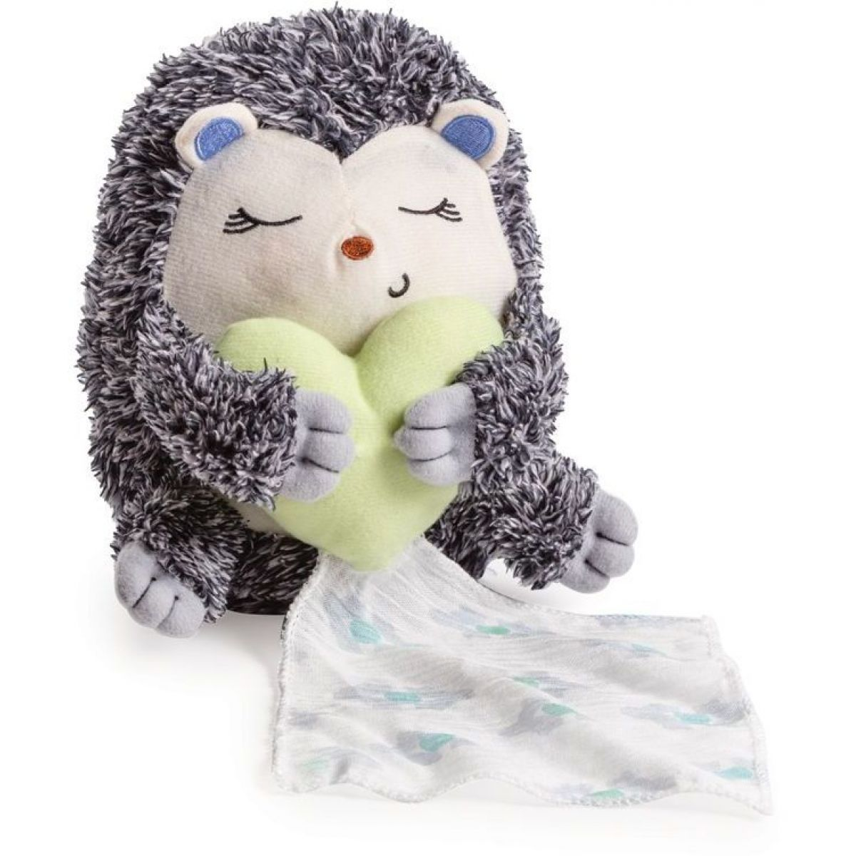 Summer Infant Plyšový usínáček s tlukotem srdce ježek