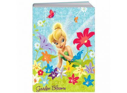 Sun Ce Disney Víly Školní sešit s obalem Zvonilka 60 listů