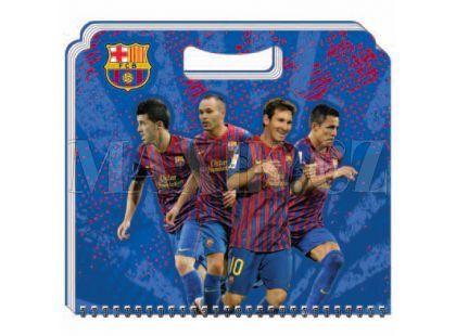Sun Ce FC Barcelona Skicák menší 15 listů