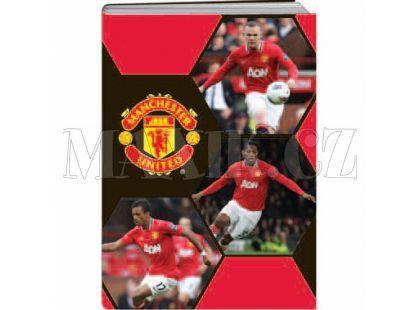 Sun Ce Školní sešit s obalem Manchester United 40 listů