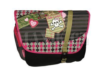 Sun Ce Pink Cookie Taška přes rameno na notebook
