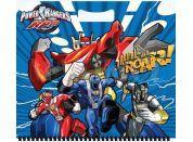 Sun Ce Power Rangers Skicák malý 15 listů