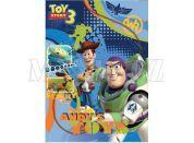 Sun Ce Toy Story 3 Neprůhledný obal s linkovaným sešitem 40 listů