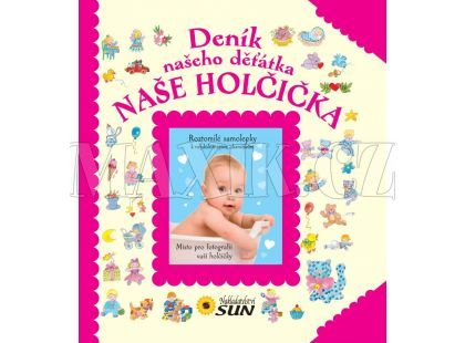 Sun Deník našeho děťátka Naše holčička