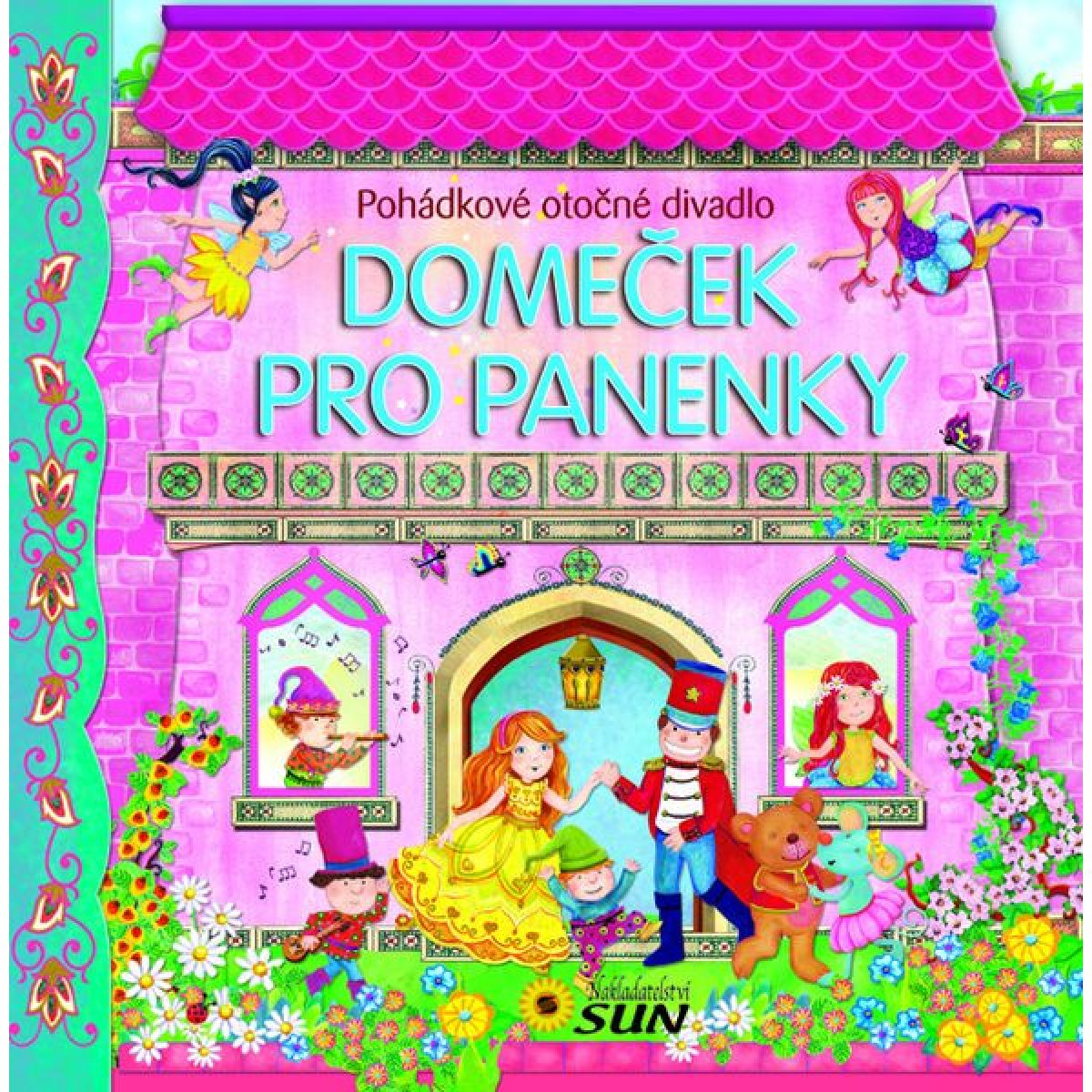 Sun Domeček pro panenky Panoramatické leporelo