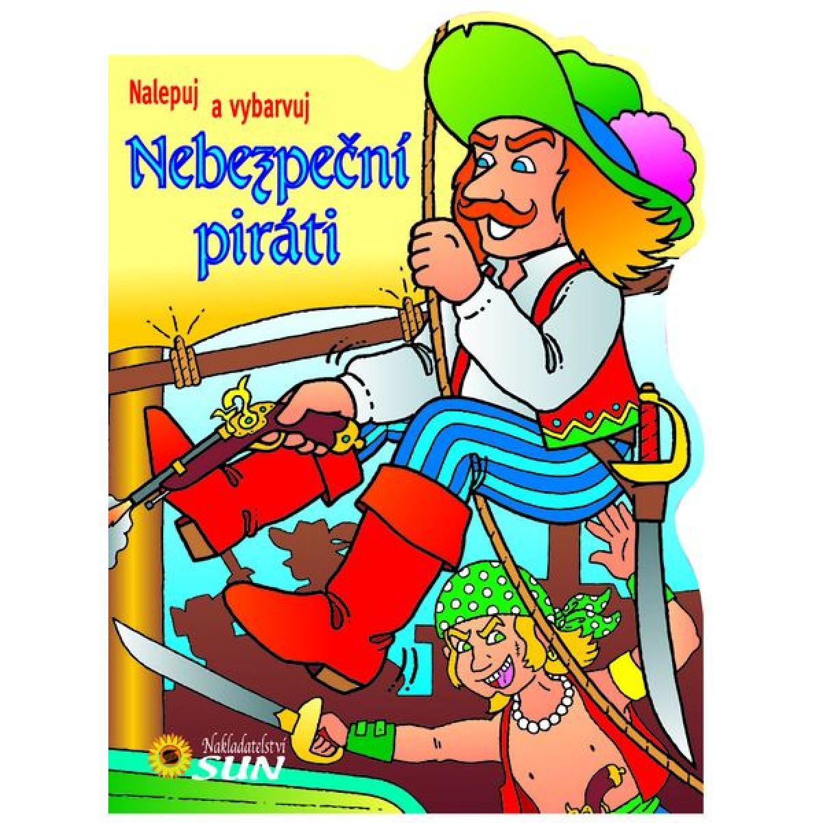 Sun Nalepuj a vybarvuj Piráti