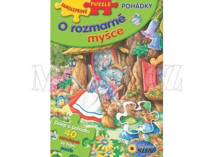 Sun Samolepkové puzzle O Rozmarné myšce