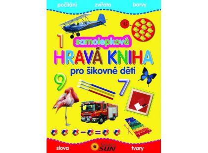 Sun Samolepková hravá kniha pro šikovné děti