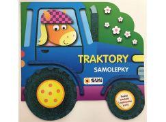 Sun Samolepková kniha s Traktory pro opakované použití