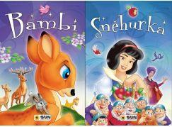 Sun Sněhurka a Bambi velká písmena